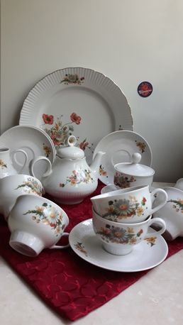 Раритет !!! Новый сервиз чайный ГДР Jlmenau Германия из СССР