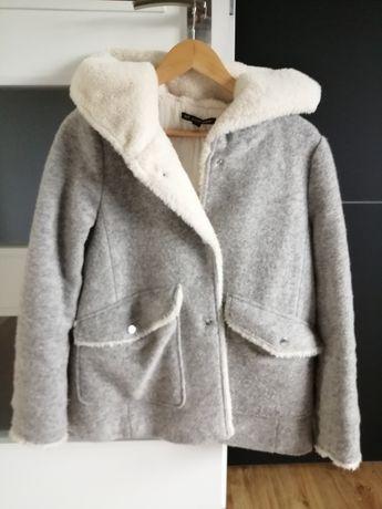 Zara Krótki płaszcz, kurtka