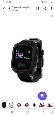 Дитячий смарт годинник Smart Watch GPS GW900 (Q60) Black