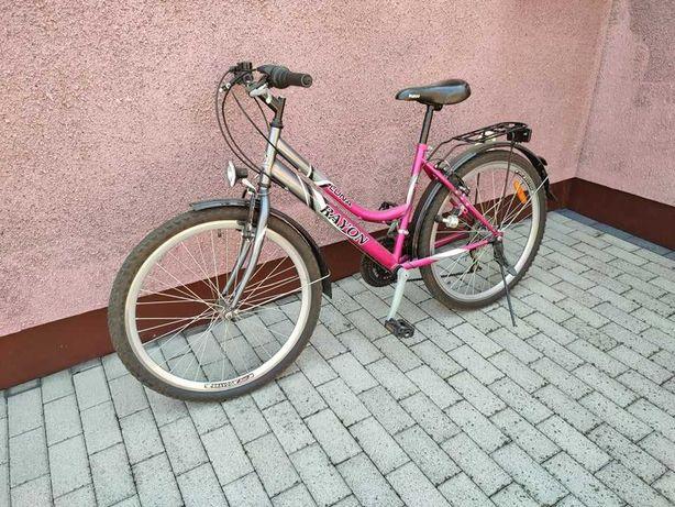 Rower Luna Rayon, dziecięcy 26', Stan BDB