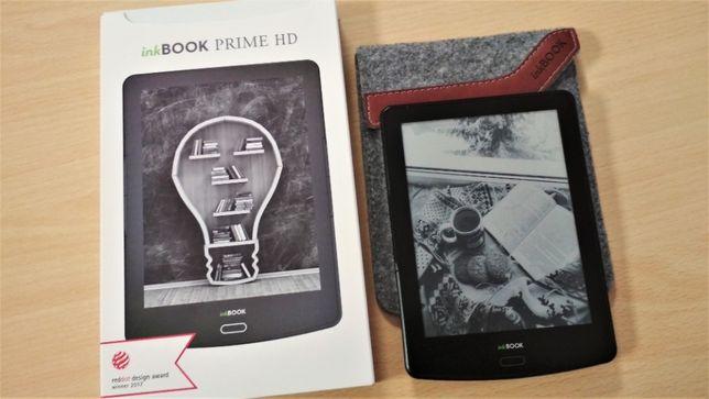Czytnik ebooków InkBOOK Prime HD 6'' czarny - stan idealny!