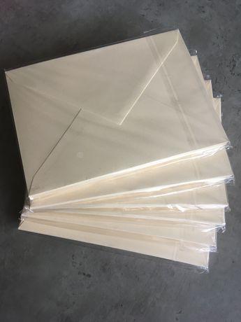 Koperta na zaproszenia ślubne, koperty B6 125x176 mm
