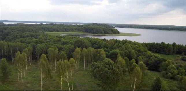 Działka rekreacyjna nad jeziorem Wierzchowo 1129m2