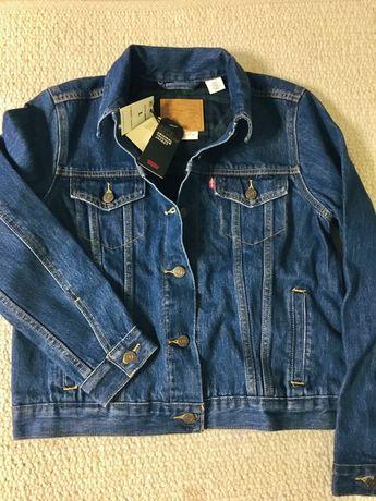 Levi's (оригинал) новый джинсовый пиджак бомбер куртка женская levis M