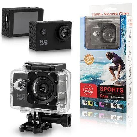 KAMERA SPORTOWA FULL HD 1080p pro wodoodporny