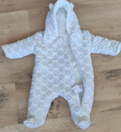 Kombinezon jesień-zima niemowlęcy ocieplany