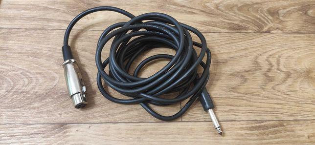 кабель XLR на Jack 6.3 3 метра