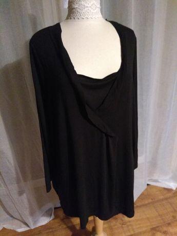 Czarna bluzka Bonprix BPC rozmiar 50 - 52