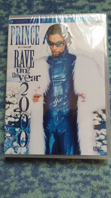 Prince - Rave Un2 the Year 2000 - DVD - selado