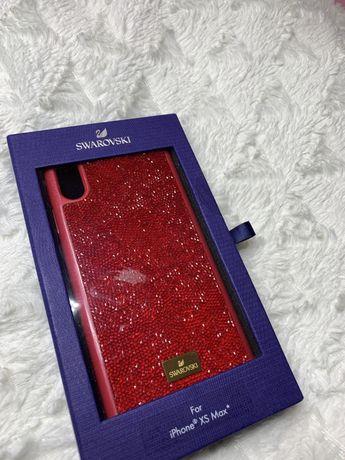 Iphone xs max case swarovski etui na telefon krysztalki swarovskiego