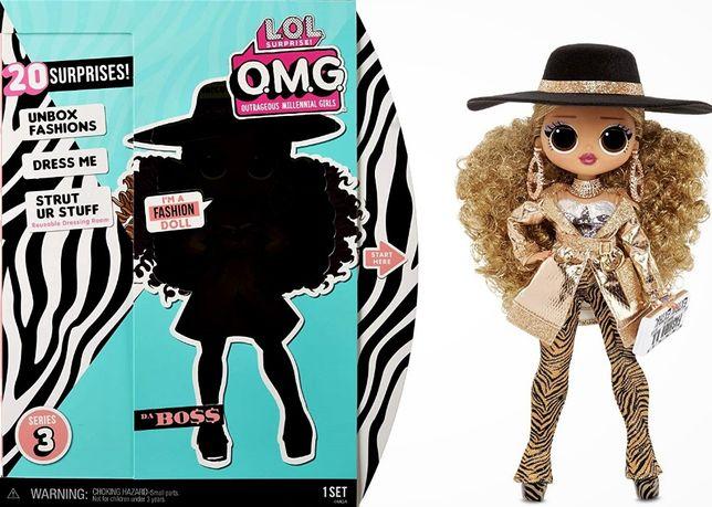 Кукла ЛОЛ Сюрприз Леди Босс L.O.L. Surprise! O.M.G. Series 3 Da Boss F