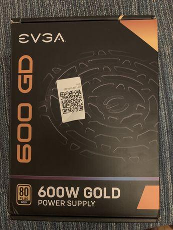 Fonte de alimentação EVGA GD 600w 80+ GOLD PSU - Usada 3 meses