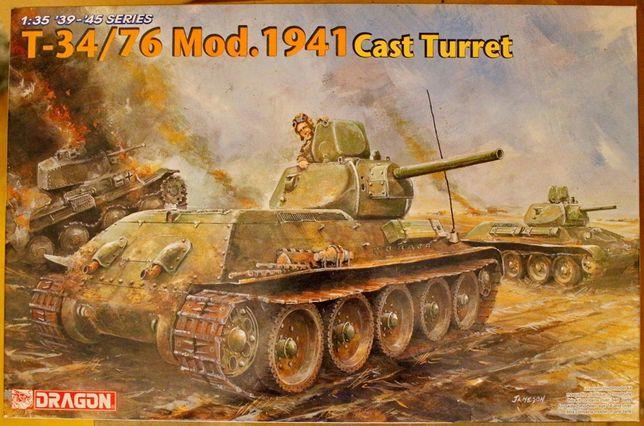 T-34 Mod. 1941 cast turret dragon 1:35 NOWY