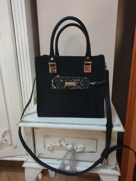 Nowa torebka Bessie London czarna