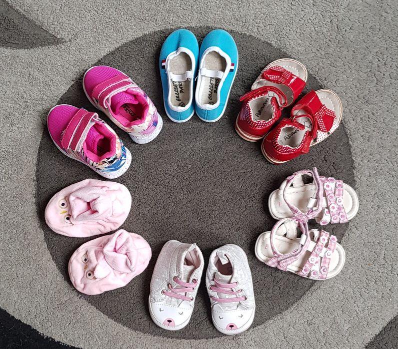 Buciki dla dziewczynki r. 20 Chełm - image 1