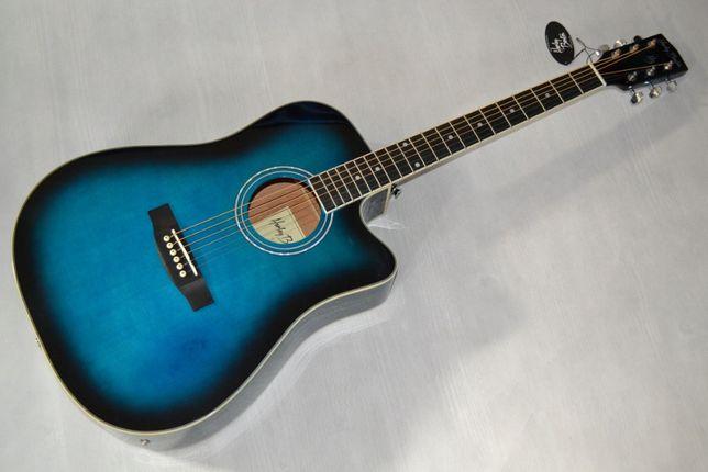 Harley Benton D-120CE TB gitara elektroakustyczna - setup gratis!