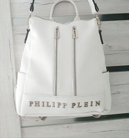 Plecak / Torba Philipp Plein White