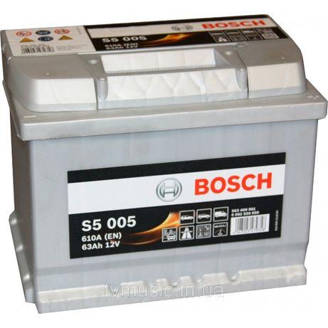 Аккумулятор BOSCH Silver 6ст-63А/ч R+ S500