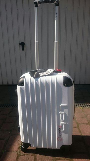 Walizka podróżna mała kabinowa do samolotu z Paryża klasa premium