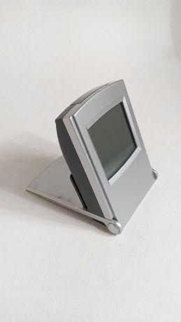 США! Цифровые часы с термометром дорожный будильник с подсветкой