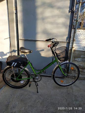 Продам велосипед электрический складной