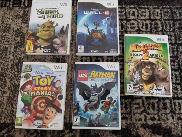 Jogos para a Wii - filmes de animação