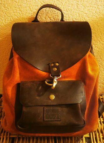 Кожаный рюкзак Squirrels Bag