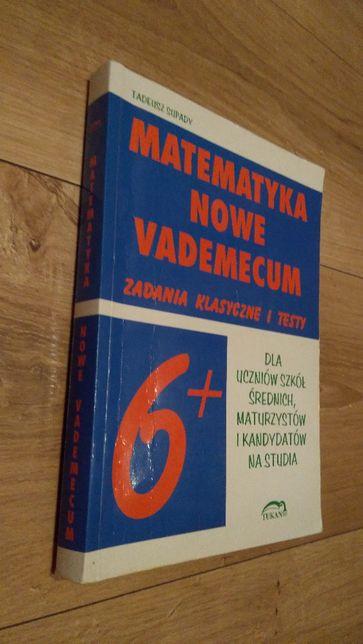 Matematyka nowe vademecum 6+ Tadeusz Supady