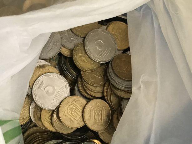ПРОДАЖА!! монети 1992 2019 25 копійок і 5 копійок ПОШТУЧНО ЗВОНИ!!