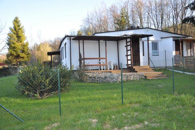 domek rekreacyjno - mieszkalny w Nadolu nad jeziorem Żarnowieckim