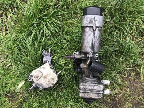 Тандемный насос кронштейн масляного фильтра корпус фильтра Golf 4 Bora