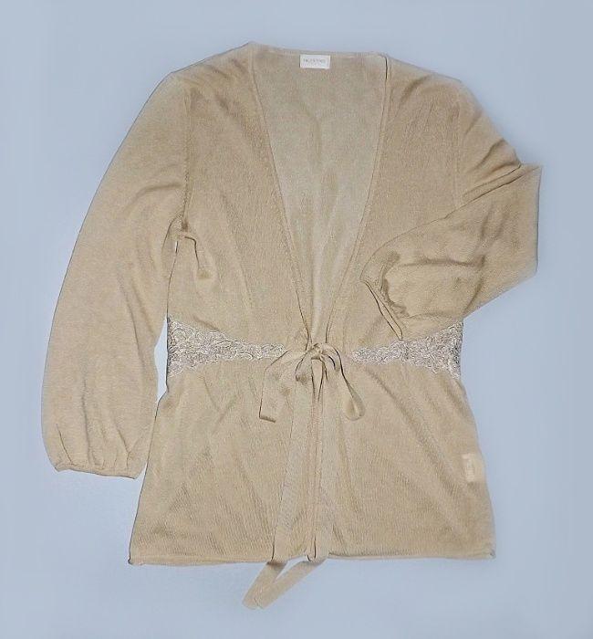 Кардиган Valentino, блуза, кофта, р.44 (8), тонкий трикотаж, кружево. Николаев - изображение 1