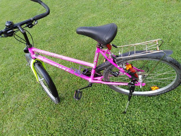 Rower Rixe różowy