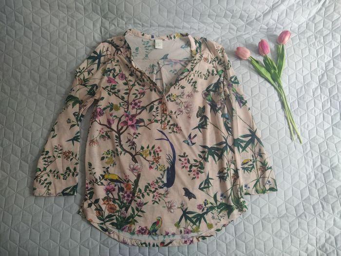 Śliczna bluzka w kwiaty H&M XS Białystok - image 1