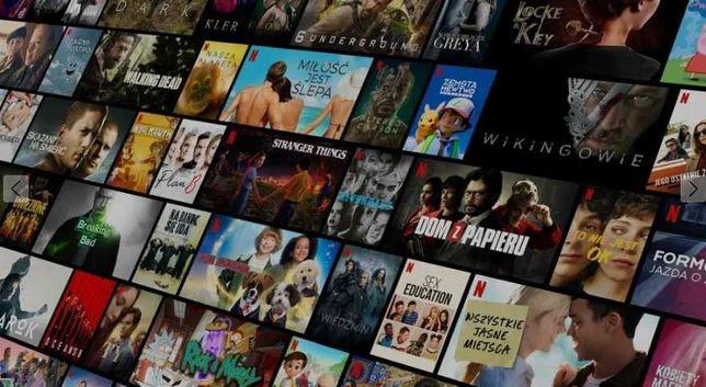 NETFLIKS 1 miesiąc • Najwyższa jakość 4K • UHD PC/Smart TV•