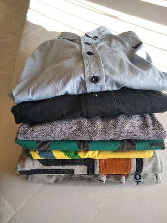 Bluza x 3 spodnie x 1 koszula x 2) 146/152