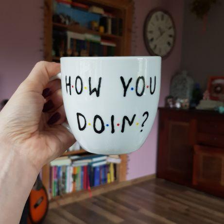 Duży kubek serial Przyjaciele Friends How You Doin?