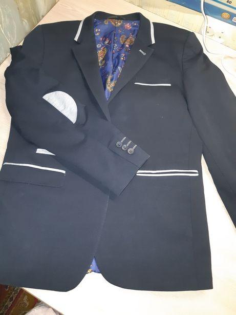 Пиджак школьный, р.158
