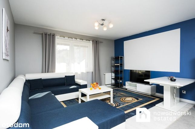 Jasne 2-pokojowe mieszkanie na parterze | Złocień