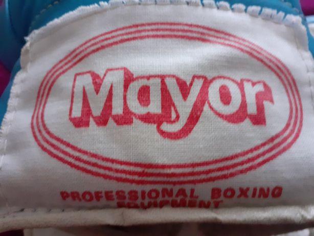 Перчатки боксерские Mayor