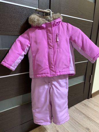 Зимовий комбінезон/комплект для дівчинки OshKosh
