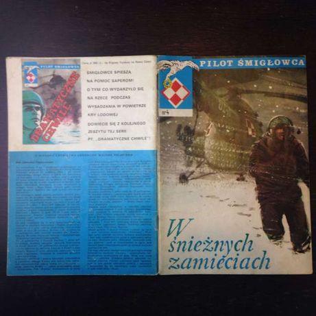 W śnieżnych zamieciach, pilot śmigłowca cz. 4