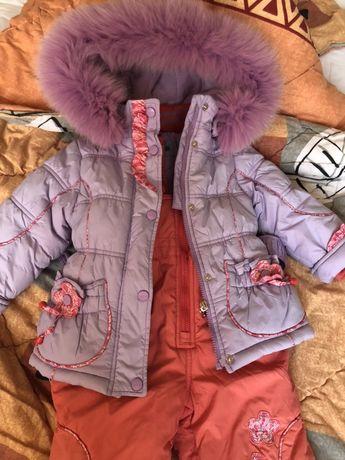 Комбинезон (куртка + штаны) зимний Danilo на 92-98 см