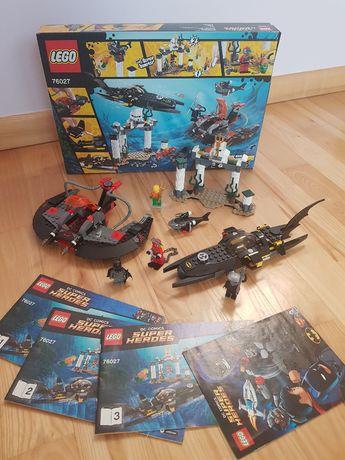 LEGO Super Heroes 76027 Atak Czarnej Manty