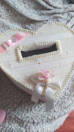 Свадебная коробка для подарков