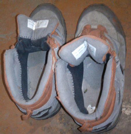 Детские ботинки Salomon,б/у,размер написан 36(по стельке 23,5см)