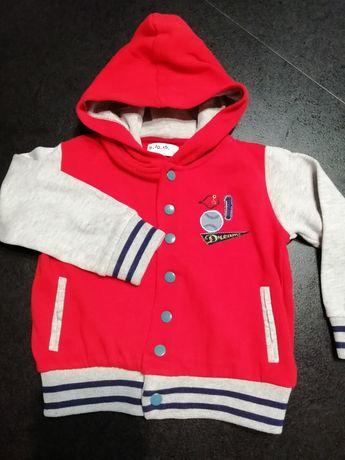 Bluza dla chłopca 5-10-15 rozmiar 86