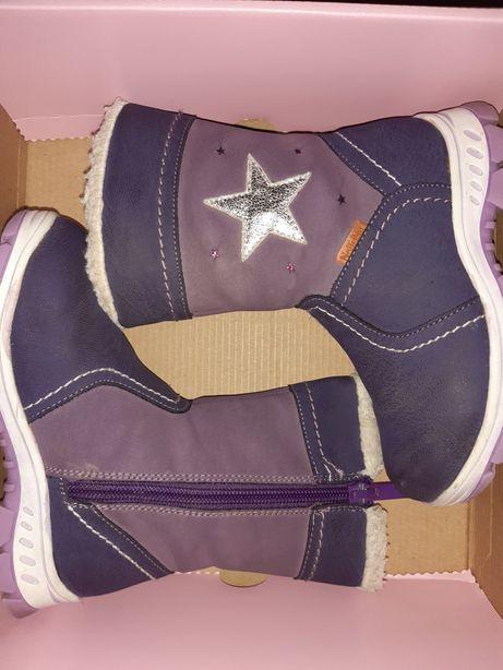 Buty zimowe Kozaki dziecięce 26