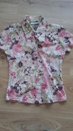 Sprzedam koronkową bluzkę w kwiaty rozmiar 36