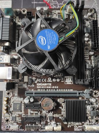 Procesor intel core i5-7400 3.00GHZ+ płyta główna gigabyte